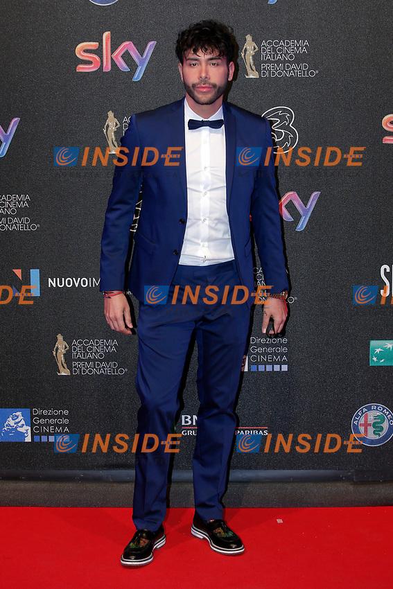 Giacomo Urtis <br /> Roma 27-03-2017. Premio David di Donatello 2017.<br /> Rome March 27th 2017. David di Donatello ceremony 2017. <br /> Foto Samantha Zucchi Insidefoto
