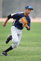 January 17, 2010:  Anthony Brown (Atlanta, GA) of the Baseball Factory Southeast Team during the 2010 Under Armour Pre-Season All-America Tournament at Kino Sports Complex in Tucson, AZ.  Photo By Mike Janes/Four Seam Images