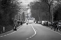 Peloton attacking the Edelareberg<br /> <br /> 69th Kuurne-Brussel-Kuurne 2017 (1.HC)