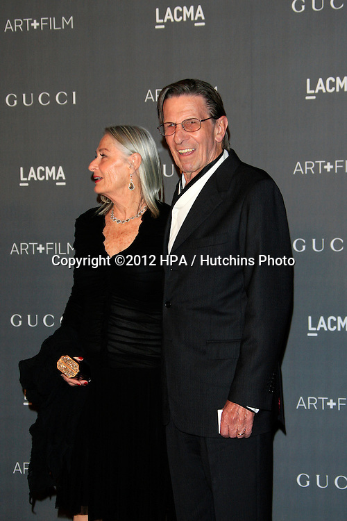 LOS ANGELES - OCT 27:  Leonard Nimoy arrives at the LACMA 2012 Art + Film Gala at Los Angeles County Musem of Art on October 27, 2012 in Los Angeles, CA