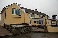 Wednesday 19 February 2014<br /> Pictured:Views of the Duke of Edinburgh public house in Newgale, Pembrokeshire<br /> Re: Prime Minister David Cameron Visits Flood victims at the Duke of Edinburgh public house in Newgale, Pembrokeshire, Wales