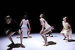 LA CONSTELLATION CONSTERNEE..FULGURANCES CEANS creation 2010....Choregraphie : LEBRUN Thomas..Compagnie : Compagnie Illico..Lumiere : SERRE Jean Marc..Costumes : GUELLAFF Jeanne..Avec :..DEROO Anne Emmanuelle..LANCELIN Anne Sophie..COTTIN Raphael..CAZAUX Anthony..MIAZZO Claudia....Lieu : Centre National de la danse..Cadre : Moisson d'hiver..Ville : Pantin..Le : 19 01 2010..© Laurent PAILLIER / photosdedanse.com..All rights reserved