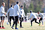 MARIETTA, GA - DECEMBER 06: Atlanta United FC's Greg Garza. The MLS Cup 2018 Team Training Sessions were held on December 6, 2018 at the Children's Healthcare of Atlanta Training Ground in Marietta, GA.