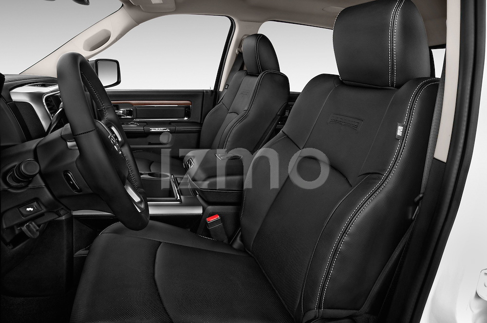 Front seat view of a 2015 Ram 2500 Laramie 4 Door Truck front seat car photos