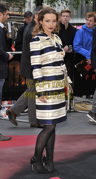 LONDON, ENGLAND - MAY 11: Perdita Weeks attends the &quot;Godzilla&quot; UK film premiere, Odeon Leicester Square cinema, Leicester Square, on Sunday May 11, 2014 in London, England, UK.<br /> CAP/CAN<br /> &copy;Can Nguyen/Capital Pictures