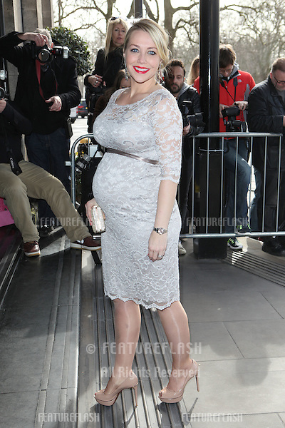 Laura Hamilton arriving for the 2015 TRIC Awards, at the Grosvenor House Hotel, London. 10/03/2015 Picture by: Alexandra Glen / Featureflash