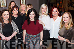 The Ardfert gang enjoying the Womens Little Christmas celebrations in No 4 The Square Restaurant on Saturday night last.