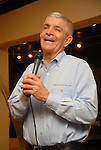 Jim McIngvale speaks to the crowd during a grand opening party at the new Gallery Furniture location at 2411 Post Oak  Wednesday March 11, 2009. (Dave Rossman/For the Chronicle)