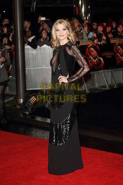 LONDON, ENGLAND - NOVEMBER 11: Natalie Dormer attends the UK premiere of 'The Hunger Games: Catching Fire' at Odeon Leicester Square on November 11, 2013 in London, England<br /> CAP/ROS<br /> &copy;Steve Ross/Capital Pictures