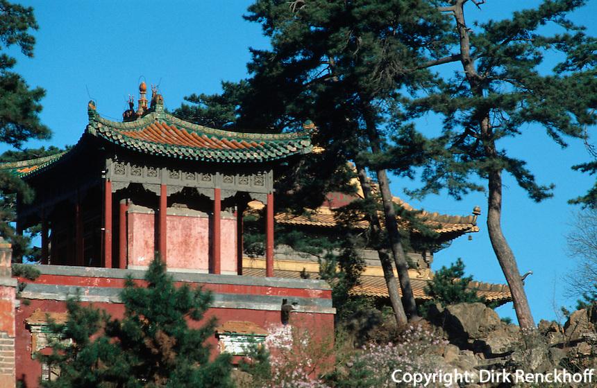 Xumi Fushou Miao-Tempel in Chengde, China, Unesco-Weltkulturerbe