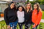 Ciara, Maria, Rasha Amin and Amy Samy at their home in Tralee on Friday.