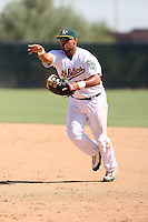 AJ Kirby-Jones - Oakland Athletics - 2010 Instructional League.Photo by:  Bill Mitchell/Four Seam Images..