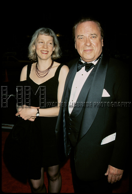 Rip Torn and Amy Wright attending the 1997 Tony awards at Radio City Music Hall, New York City.<br />