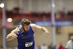 NAPERVILLE, IL - MARCH 11: Aurora University's Ryan Njegovan is the men's Shot Put champion at the Division III Men's and Women's Indoor Track and Field Championship held at the Res/Rec Center on the North Central College campus on March 11, 2017 in Naperville, Illinois. (Photo by Steve Woltmann/NCAA Photos via Getty Images)