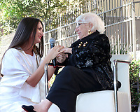 LOS ANGELES - OCT 28:  Ivana Canovic, Lina Wertmuller at the Lina Wertmuller Star Ceremony on the Hollywood Walk of Fame on October 28, 2019 in Los Angeles, CA