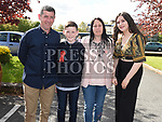 Adam Everitt who was Confirmed in the Holy Family Church Ballsgrove pictured with his family. Photo:Colin Bell/pressphotos.ie