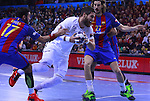 03.12.2016 Barcelona. EHF Champions League Group Phase. Picture show Luka Karabatic in action during game between FC Barcelona Lassa against Paris Saint-Germain at Palau Blaugrana