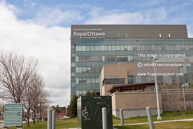 The Royal Ottawa Mental Health Centre is pictured in Ottawa Wednesday April 25, 2012. The Royal Ottawa Mental Health Centre (also known as Royal Ottawa Hospital, Royal Hospital or ROH) is a 207-bed mental health facility located in Ottawa, Canada which began operation in 1961