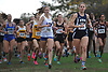 Runners compete in the Suffolk County varsity girls cross country Division Championships at Sunken Meadow State Park on Thursday, Oct. 26, 2017.