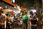 "Opened in 1956, Jobi bar and restaurant is a beloved local favorite where Cariocas (residents of Rio de Janeiro) drink glasses of ""choppe"", beer, in the posh neighborhood of Leblon, in Rio de Janeiro, Brazil, on Friday, Feb. 1, 2013."