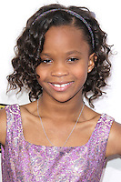 SANTA MONICA, CA - JANUARY 10: Quvenzhane Wallis at the 18th Annual Critics' Choice Movie Awards at Barker Hangar on January 10, 2013 in Santa Monica, California. Credit: mpi26/MediaPunch Inc.