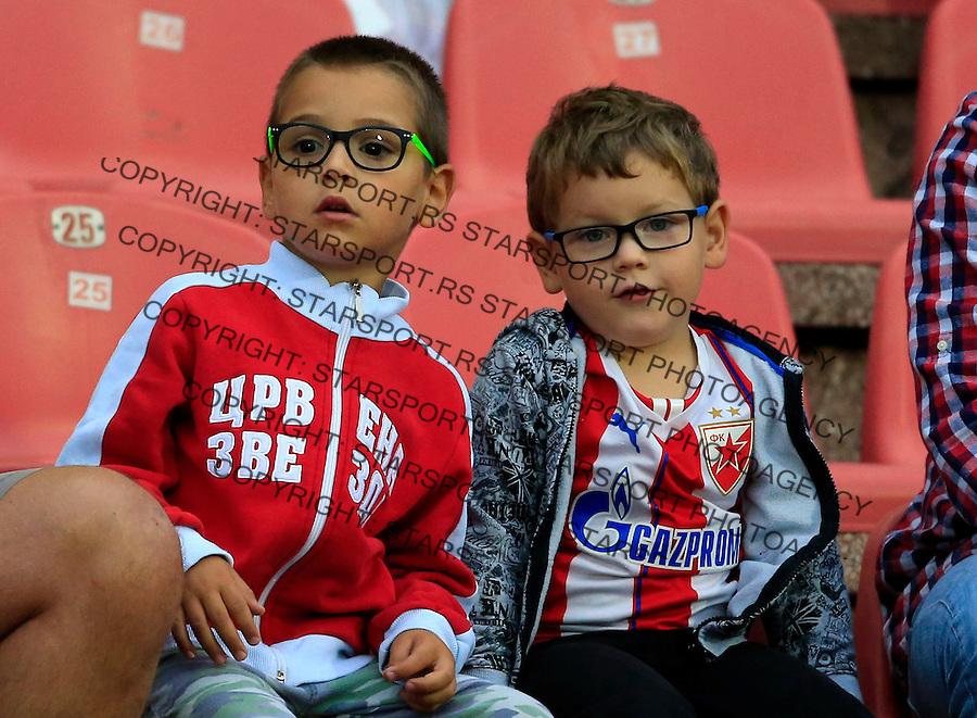 Fudbal Super League season 2015-2016<br /> Crvena Zvezda v Radnicki Nis<br /> Delije navijaci fans suppporters<br /> Gornji Milanovac, 31.07.2015.<br /> foto: Srdjan Stevanovic/Starsportphoto&copy;