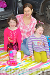 Ella, Annette and Maggie Scanlon from Ballymac who were having a picnic at the Camp Family Fun Day on Sunday.
