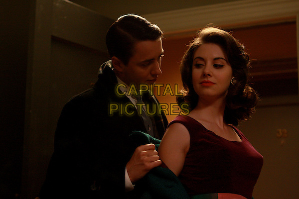 VINCENT KARTHEISER, ALISON BRIE<br /> in Mad Men (Season 2)<br /> *Filmstill - Editorial Use Only*<br /> CAP/FB<br /> Image supplied by Capital Pictures
