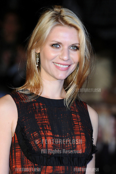 "Claire Danes arriving for the premiere of ""The King's Speach"" as part of the 2010 London Film Festival, at the Vue cinema, Leicester Square, London.  21/10/2010  Picture by: Steve Vas / Featureflash"