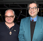 Mickey Boardman & Michael Musto attending the Liza Minnelli 67th Birthday Celebration at the Copa in New York City on 3/13/2013..