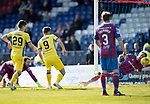 Inverness Caley v St Johnstone&hellip;08.04.17     SPFL    Tulloch Stadium<br />Steven MacLean scores for saints<br />Picture by Graeme Hart.<br />Copyright Perthshire Picture Agency<br />Tel: 01738 623350  Mobile: 07990 594431