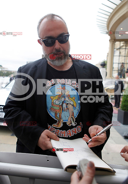 Director Alex de la Iglesia arrives to Maria Cristina Hotel to attend the 61 San Sebastian Film Festival, in San Sebastian, Spain. September 20, 2013. (ALTERPHOTOS/Victor Blanco) /NortePhoto