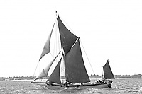 BNPS.co.uk (01202 558833)<br /> Pic: Collect/BNPS<br /> <br /> In June 1977 Xylonite's cargo carrying days came to an end when she was re rigged as a charter barge.<br /> <br /> A stunning sailing barge used in the making of the new Christopher Nolan epic Dunkirk is on the market for &pound;425,000.<br /> <br /> Xylonite features in the highly anticipated war film which stars Tom Hardy, Mark Rylance, Cillian Murphy and former One Direction singer Harry Styles in his first film role.<br /> <br /> Although it was not involved in the real Operation Dynamo - when multiple Thames barges went across the Channel to help the Allied soldiers stranded on the beach at Dunkirk in 1940 - Xylonite was built in 1926 and its exterior has changed very little from its pre-war days, which made it perfect for the movie.<br /> <br /> But inside the 86ft boat has been transformed into a stunning houseboat with a spacious open plan living area, fully-fitted galley and bedrooms, whilst keeping many period features.