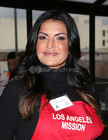 Los Angeles, CA - DECEMBER 23: Jennifer Gimenez, At Los Angeles Mission Christmas Celebration, At The Los Angeles Mission In California on December 23, 2016. Credit: Faye Sadou/MediaPunch