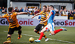 Lee Wallace surging into the box
