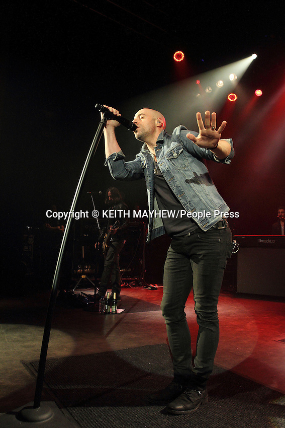 Daughtry perform on stage at Shepherds Bush Empire, London on March 26th 2014<br /> <br /> Photo by Keith Mayhew