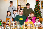 Elenor Kelliher sitting with her grandchildren as they enjoy the evening in Bella Bia on Friday.<br /> Standing front l to r: Laoise, Doireann, Tim, Tadgh and Olivia Kelliher.<br /> Back l to r: Ciaran, Bronagh and Shane Kelliher.