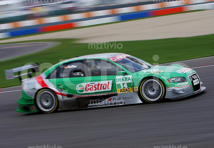 Klettwitz , 300406 , DTM Rennen Lausitzring   Zweites Saisonrennen der DTM auf dem Lausitzring nahe Cottbus  Pierre Kaffer / Audi