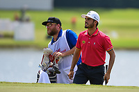 Abraham Ancer (MEX) steps up onto the green on 8 during round 1 of the 2019 Tour Championship, East Lake Golf Course, Atlanta, Georgia, USA. 8/22/2019.<br /> Picture Ken Murray / Golffile.ie<br /> <br /> All photo usage must carry mandatory copyright credit (© Golffile | Ken Murray)