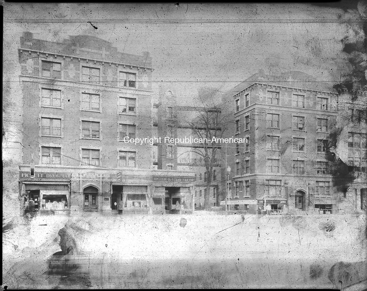 Frederick Stone negative. West Main Street from Green. Undated photo