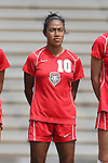 01 September 2013: New Mexico's Elba Holquin. The Duke University Blue Devils played the University of New Mexico Lobos at Fetzer Field in Chapel Hill, NC in a 2013 NCAA Division I Women's Soccer match. Duke won the game 1-0.