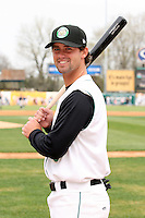 April 11 2010: Kent Walton of the Kane County Cougars at Elfstrom Stadium in Geneva, IL. The Cougars are the Low A affiliate of the Oakland A's. Photo by: Chris Proctor/Four Seam Images