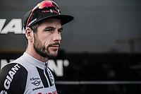 Roy Curvers (NED/Team Sunweb) pre race focus. <br /> <br /> 81st Gent-Wevelgem in Flanders Fields (1.UWT)<br /> Deinze &gt; Wevelgem (251km)