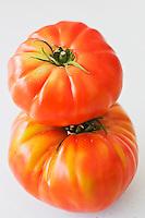 Europe/France/Aquitaine/47/Lot-et-Garonne/Marmande: Lors de la Fête de la Tomate: Tomato Fiesta/ Tomates de Marmande - Cette variété est beaucoup moins cultivée .