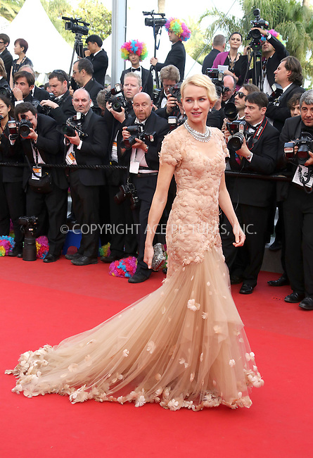 "WWW.ACEPIXS.COM . . . . .  ..... . . . . US SALES ONLY . . . . .....May 18 2012, Cannes....Naomi Watts at the premiere of ""Madagascar 3: Europe's Most Wanted"" at the Cannes Film Festival on May 18 2012 in France -....Please byline: FAMOUS-ACE PICTURES... . . . .  ....Ace Pictures, Inc:  ..Tel: (212) 243-8787..e-mail: info@acepixs.com..web: http://www.acepixs.com"