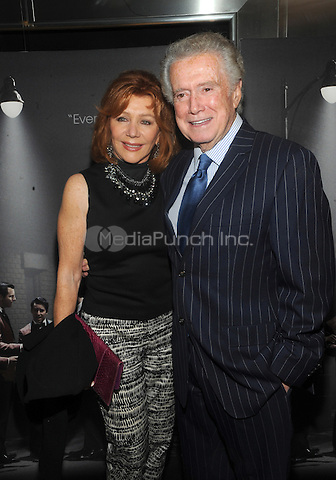New York, NY- June 9: Joy Philbin and Regis Philbin attends the 'Jersey Boys' Special Screening at the Paris Theater on June 9, 2014 in New York City. Credit: John Palmer/MediaPunch