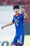 Suwon Midfielder Lee Jong Sung gestures during the AFC Champions League 2017 Group G match between Guangzhou Evergrande FC (CHN) vs Suwon Samsung Bluewings (KOR) at the Tianhe Stadium on 09 May 2017 in Guangzhou, China. Photo by Yu Chun Christopher Wong / Power Sport Images