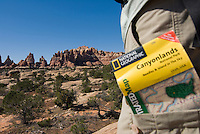 Backpacking in the Needles District of Canyonlands National Park.