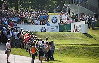 Rafa Cabrera-Bello (ESP) during Round Three of the 2016 BMW PGA Championship over the West Course at Wentworth, Virginia Water, London. 28/05/2016. Picture: Golffile   David Lloyd. <br /> <br /> All photo usage must display a mandatory copyright credit to © Golffile   David Lloyd.