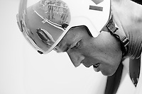 Vasil Kiryienka (BLR/SKY) after finishing/winning the most important race in his career to date<br /> <br /> Elite Men TT<br /> UCI Road World Championships / Richmond 2015